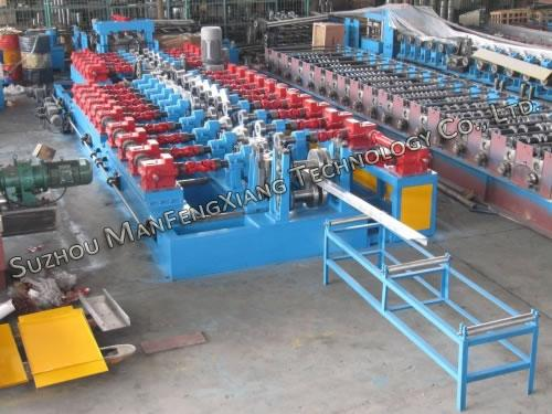 C/Z Purlin Quick Interchangeable Roll Forming Machine